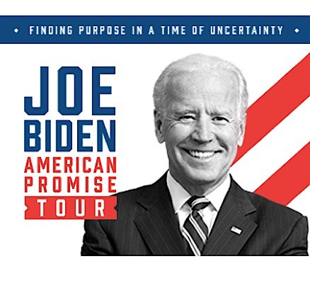 An Evening with Vice President Joe Biden and Cocktail Party. Tix Available